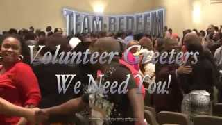 Team Redeem: Greeters Needed!