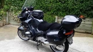 BMW R1100RT Long Distance Enhancements