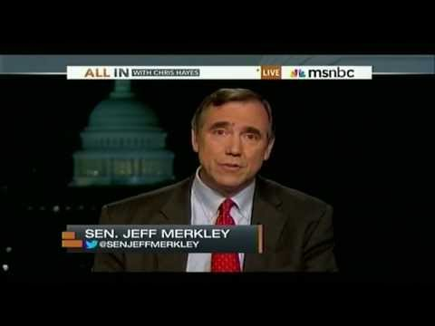 """Senator Merkley Speaks Out Against Social Security Cuts / """"Chained CPI"""""""