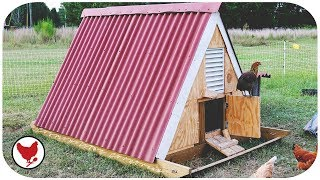 Gambar cover THE A-FRAME CHICKEN SLED | MY BEST COOP EVER