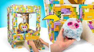 Cara Membuat Mesin Capit Mainan dari Kardus