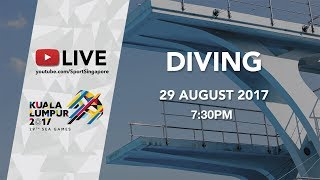 Diving Mixed Synchronised 10m platform final | 29th SEA Games 2017
