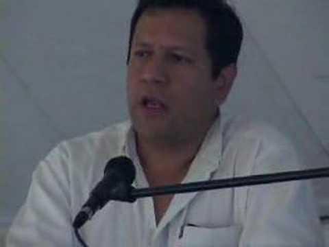 Truth Commissioner Luis Guillermo Perez Casas