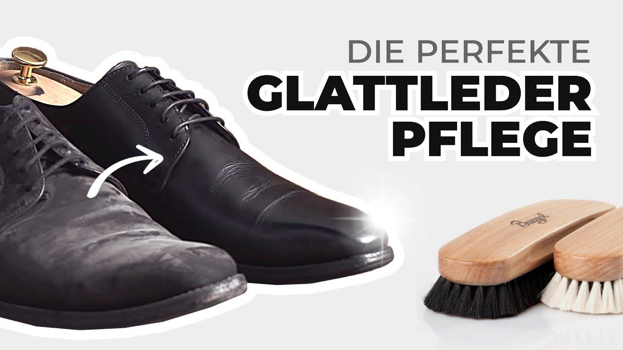 Glattleder Schuhpflege leicht gemacht