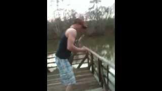 Mar 10, 2013 Throwing Gun Into River