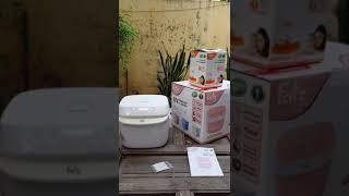 Hướng dẫn sử dụng máy tiệt trùng sấy khô UV Fatz Baby FB4700KM