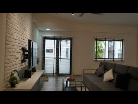 Interior Design Singapore | Minimalistic Scandinavian Home (Design