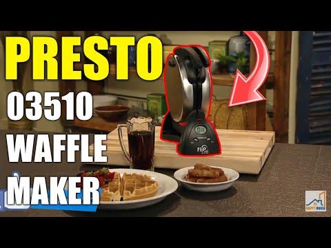 🥞Presto 03510 Ceramic FlipSide Belgian Waffle Maker🥞