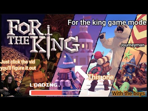 For the king! For the king game mode? Part 1! O and glitters sus this one. |