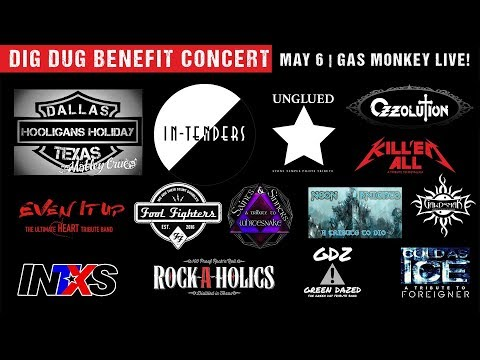Backstage Pass Dig Dug Benefit Concert Special #3 ft - Fool Fighters and Saints & Sinners