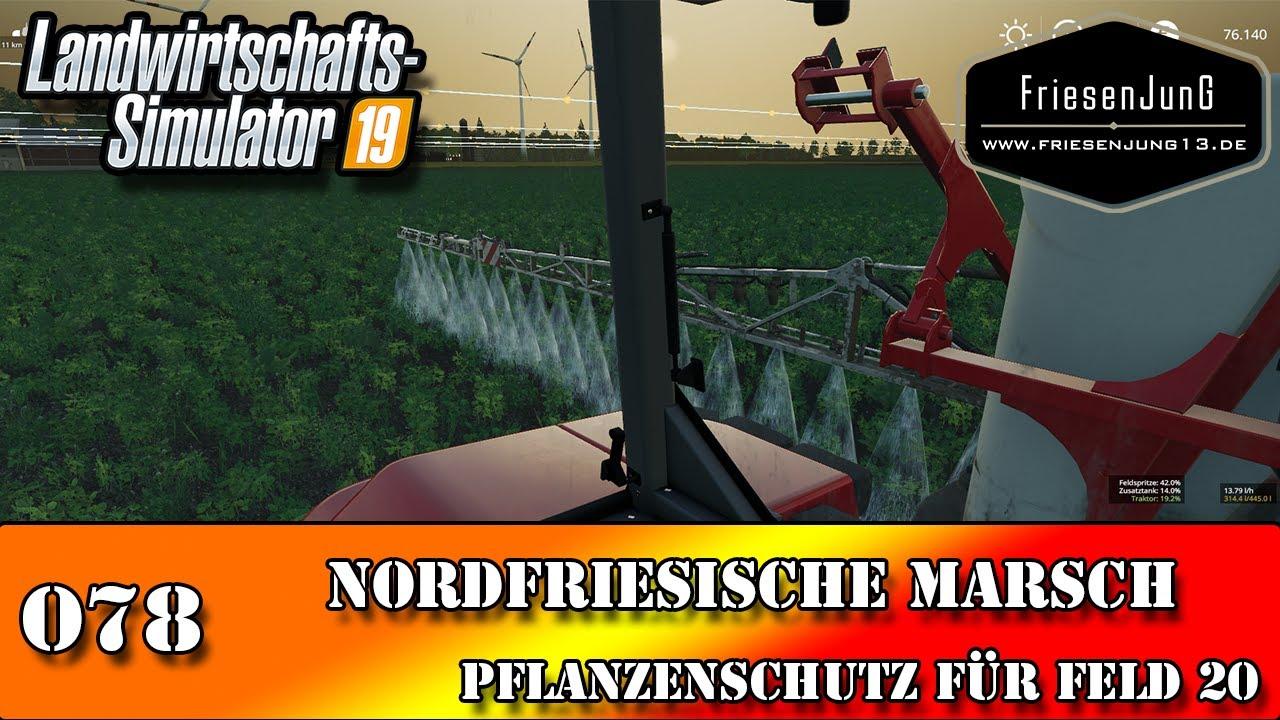 LS19 Nordfriesische Marsch mit Courseplay 078 - Pflanzenschutz für Feld 20