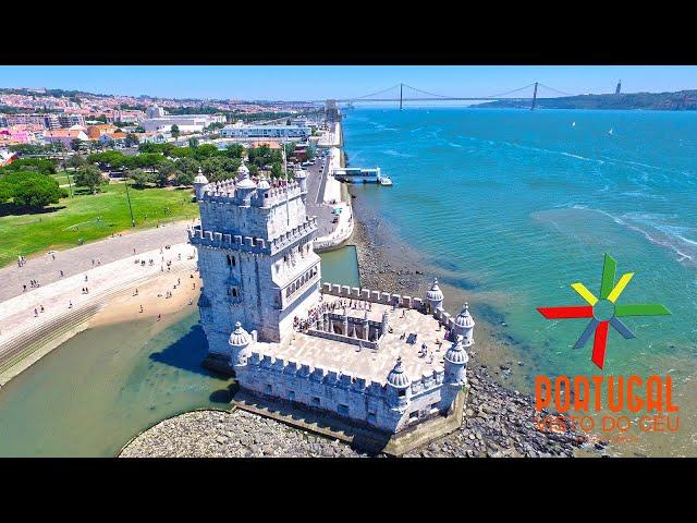 Lisbon aerial view - Lisboa vista do céu