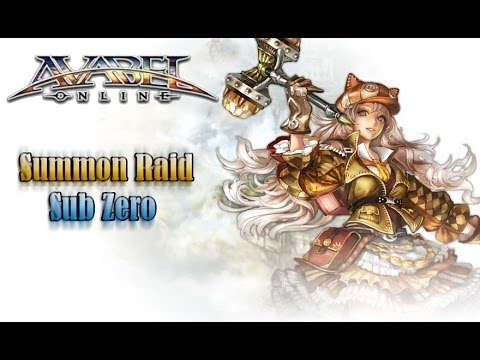 Avabel Online - Summon  Raid - Sub Zero