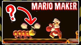 Volcanic Glitches! | Mario Maker modded glitch level