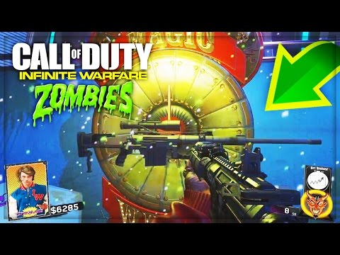 """""""INFINITE WARFARE ZOMBIES"""" NEW GAMEPLAY! - WEAPONS, POWER-UPS, ZOMBIES EASTER EGGS, PACK-A-PUNCH!!"""