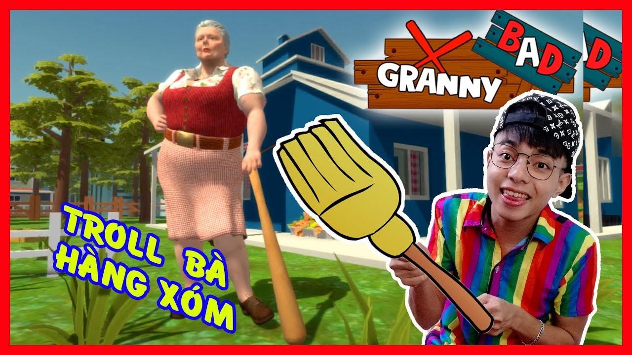 ThắnG Tê Tê Troll Bà Ngoại Nhà Hàng Xóm | Troll Granny Bad Neighbor
