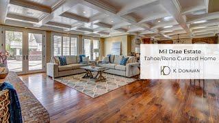 Mil Drae Estate, Reno, Nevada Home Staging