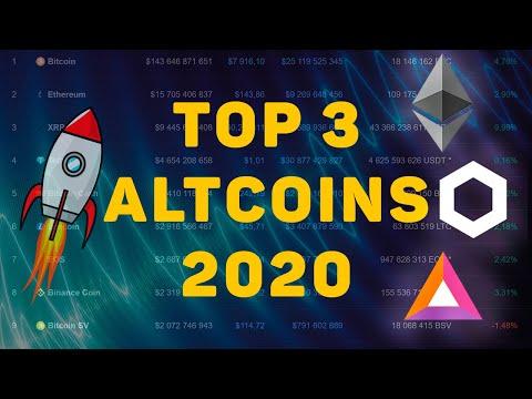 Топ 3 Альткоинов 2020 Достойных Внимания! Обзор Рынка Криптовалют, Инвестиции, Трейдинг.