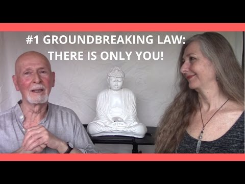 Groundbreaking Law; There is only YOU!