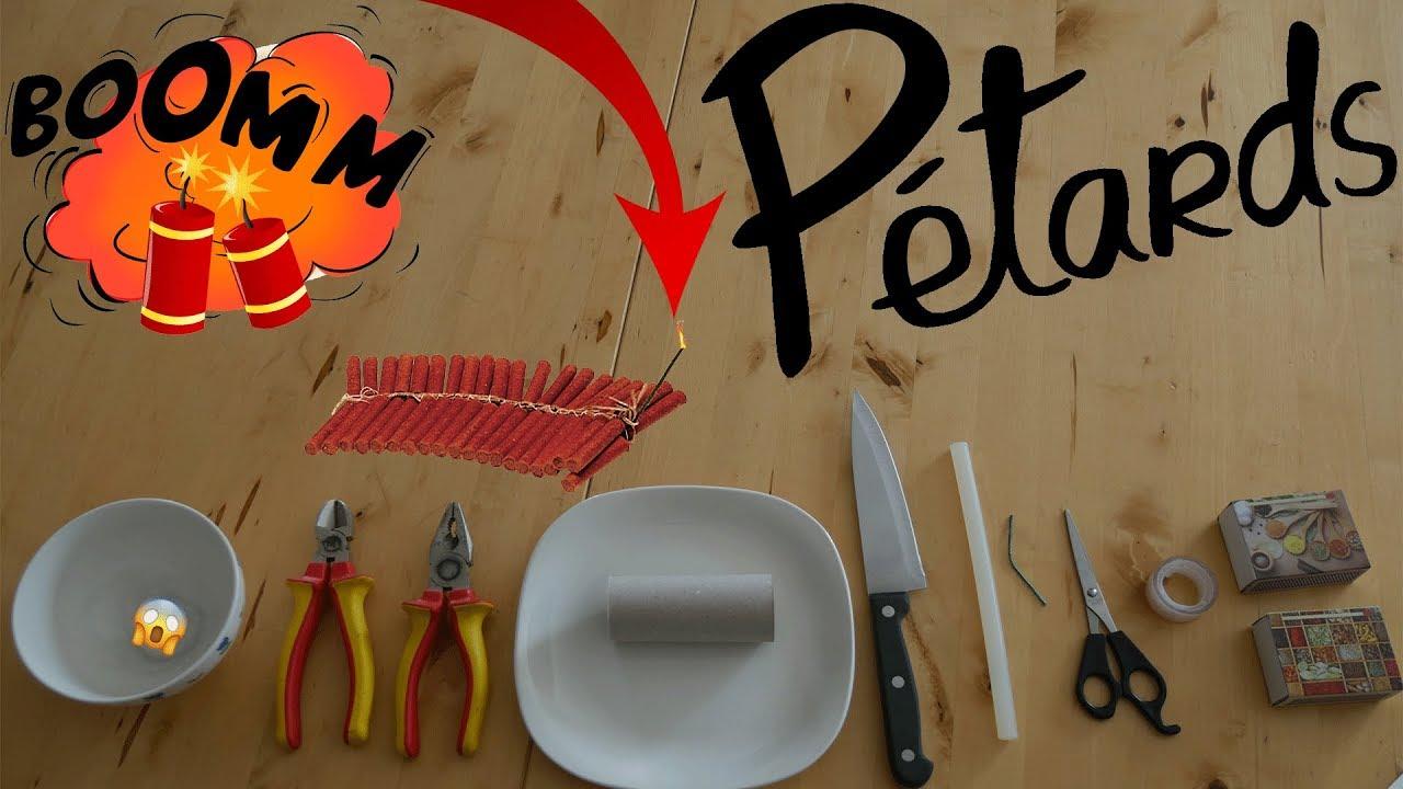 Tuto : Comment fabriquer un pétard maison (1080p) ! - YouTube