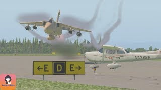 Fighter Jets in Low Pass - Shocking Spectators