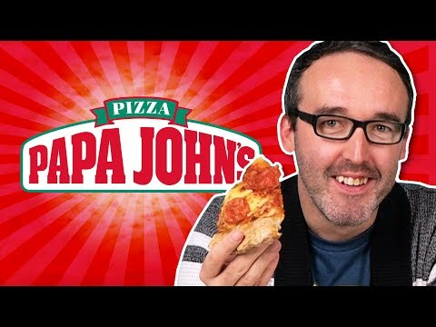 Irish People Try Papa John's Pizza