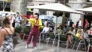 Clown Durilov - vol 6 - Barcelona street laugh attack Documentary Movie (Estilo mimo Tuga)