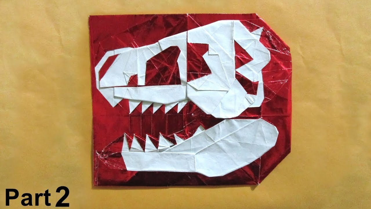 Origami Skulls and Skeletons - Page 1 of 2 | Gilad's Origami Page | 720x1280