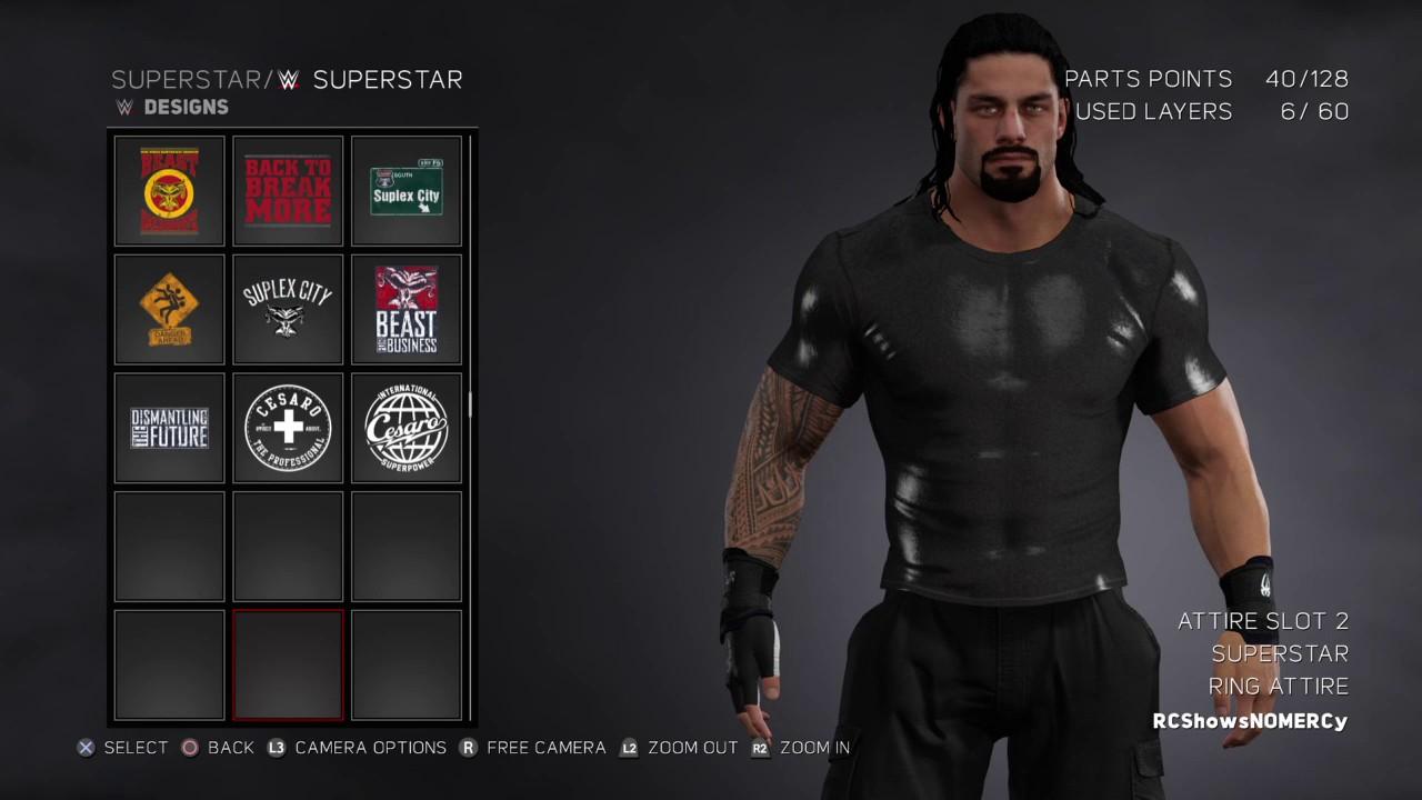 250ee6591f WWE 2K17 Roman Reigns BELIEVE THAT Attire - YouTube