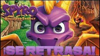 Spyro: Reignited Trilogy retrasa su lanzamiento al 13 de noviembre de 2018
