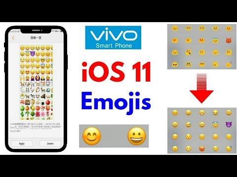 iPhone iOS 11  itz Emoji for VIVO Phones | Vivo V9,V7,V5,Y53,Y51