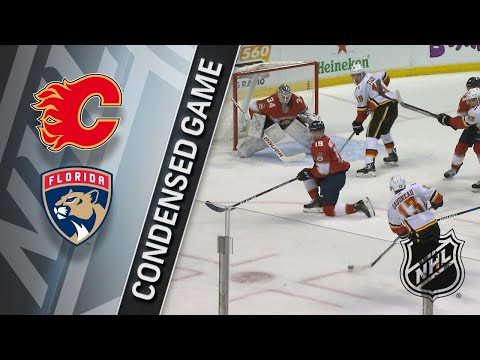 01/12/18 Condensed Game: Flames @ Panthers