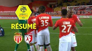 AS Monaco - LOSC ( 2-1 ) - Résumé - (ASM - LOSC) / 2017-18
