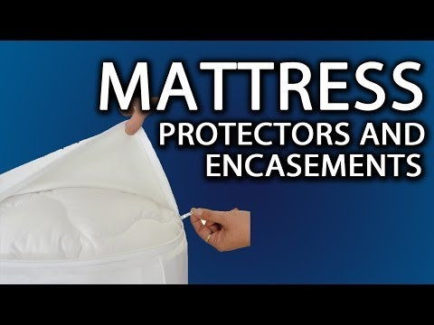 A Mattress Protector: Zippered Cover (Even Custom Sizes) For All Mattresses