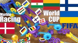 FIFA World CUP Marble Race! FIFA European Countries Marble Racing Elimination Tournament Race #25