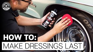 How To Prevent Tire Sling & Make Dressings Last! - Chemical Guys
