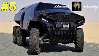 5 OFF ROAD 6x6 monsters in the world
