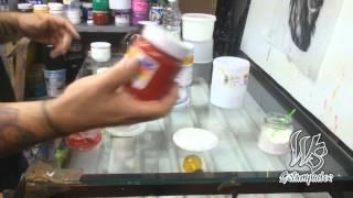 Como Preparar la base Discharge - WS Estampados