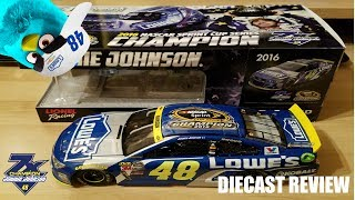 NASCAR Diecast Review: 2016 Jimmie Johnson 7x Champion Chevrolet SS (1:24 scale)