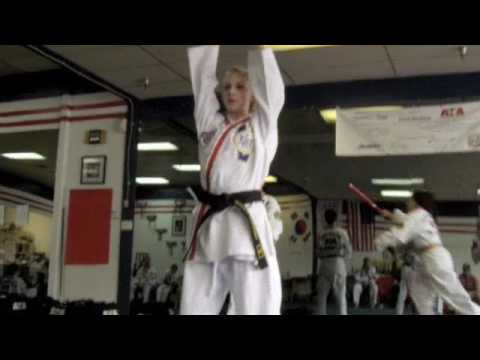Karate Girl - ATA Traditional Form and Weapons Form