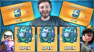 OPENING x3 LEGENDARY CHESTS & SUPER MAGICALS! | Clash Royale | 3 LEGENDARY CHEST IN 4 DAYS!