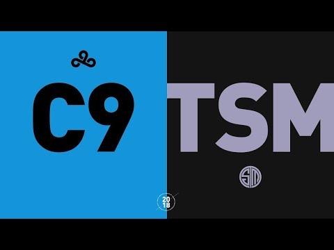C9 vs. TSM - NA LCS Regional Qualifier Highlights (Summer 2018)