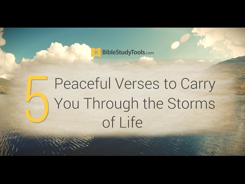 30 Best Bible Verses About Peace Encouraging Scripture Quotes