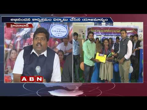 Sri Chaitanya Students Malaysia And Singapore Tour || Success Meet Held at Hyderabad || ABN Coverage