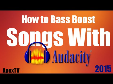 How to Bass Boost Songs with Audacity