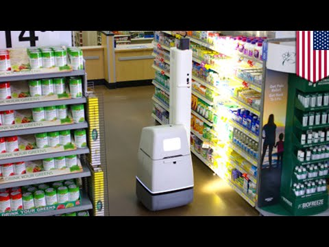 Walmart robots: Walmart using robots to help human staffers scan shelves - TomoNews