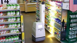 Amerika'da Süper Marketlerde Robotlar Raf Kontrolünü Yapmaya Başladı