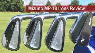 Mizuno MP-18 Irons Review By Golfalot