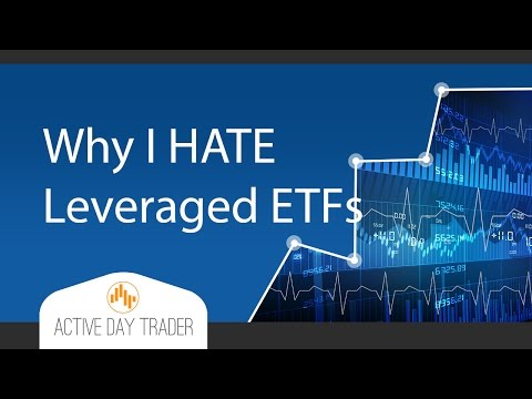 Here's why I hate leveraged ETFs (UVXY, NUGT, SSO, UWTI, ETC...) stock trading