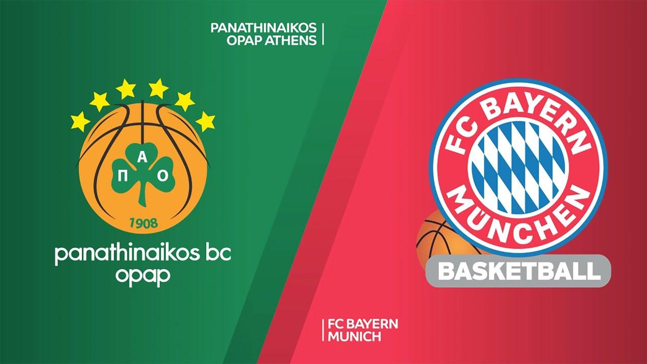 ÖZET  Panathinaikos OPAP - FC Bayern Munich Videosu